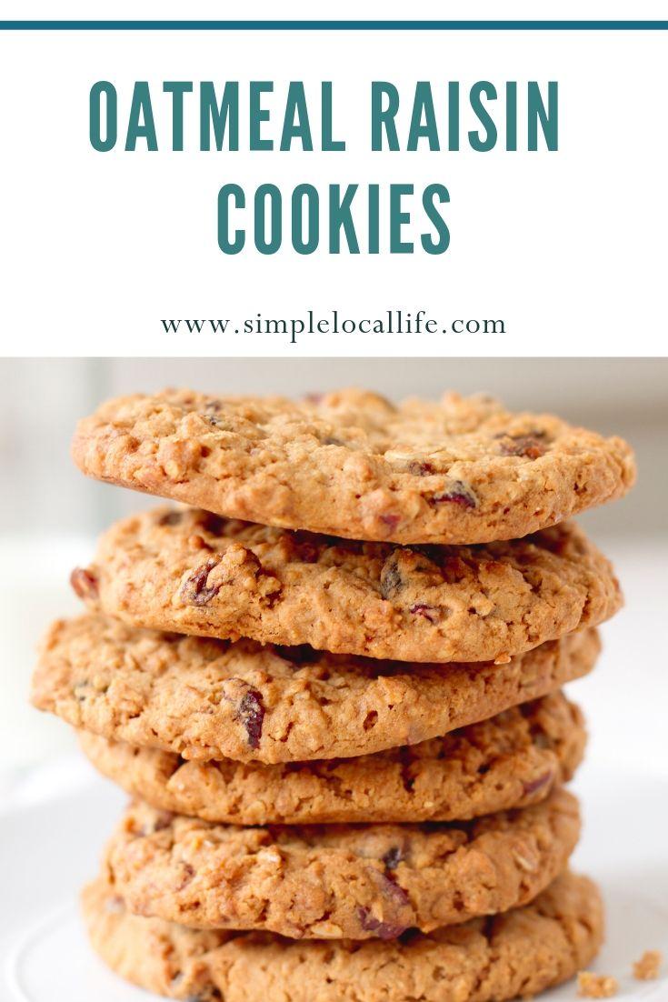 Oatmeal Raisin Cookies Recipe Recipes Oatmeal Raisin Cookies Raisin Cookies Cookies