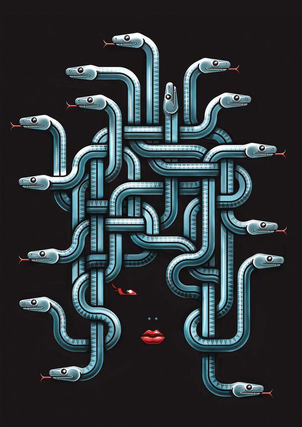 This is the most elegant Medusa EVER!!! muti_5
