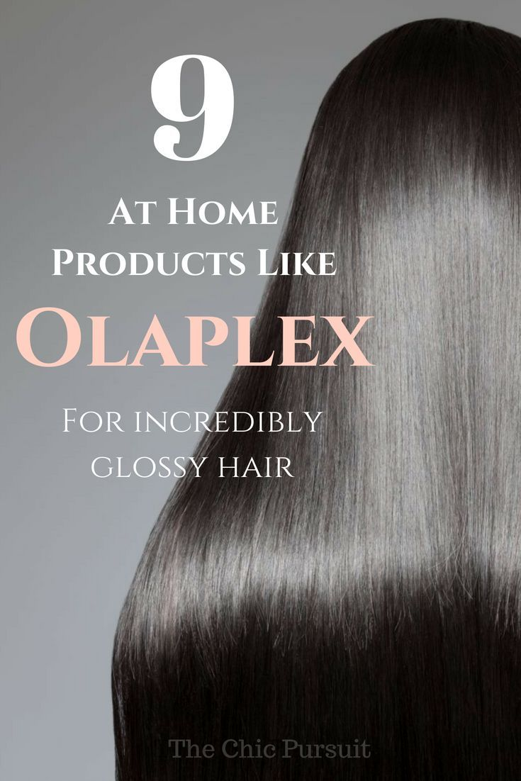 affordable products like olaplex to get incredibly glossy hair