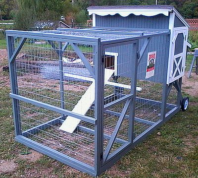Chicken Tractor Gallery compiled by Katy love this one.