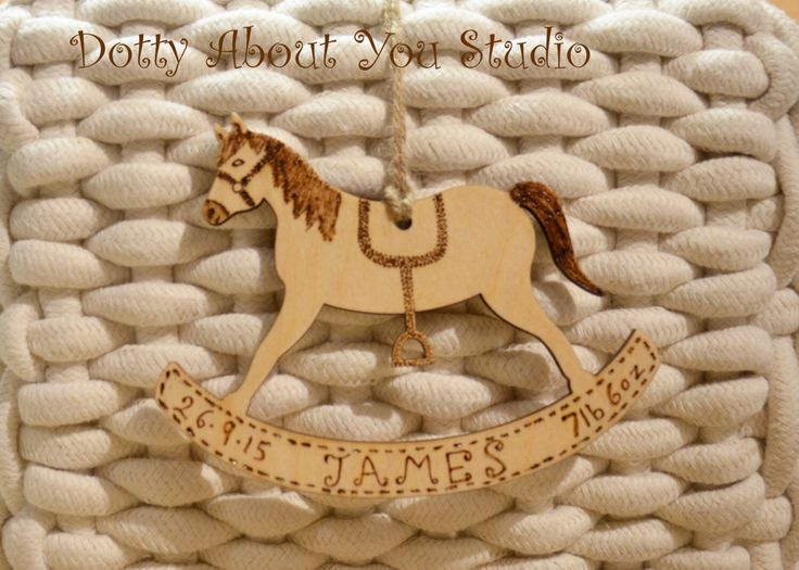 45 best dotty about you makes images on pinterest auntie baby personalised rocking horse plaque new baby gift by dottyaboutyoustudio on etsy https negle Image collections