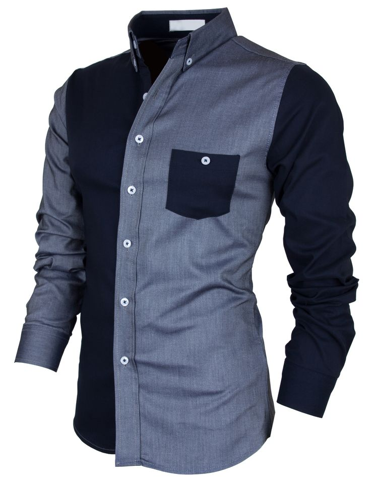 PorStyle Men's Slim Fitted Contrast Coloration Dress Shirts http://porstyle.com http://www.amazon.com/PorStyle-Fitted-Contrast-Coloration-Shirts/dp/B00F03K2KK/ref=sr_1_3?s=apparel&ie=UTF8&qid=1378969331&sr=1-3&keywords=porstyle