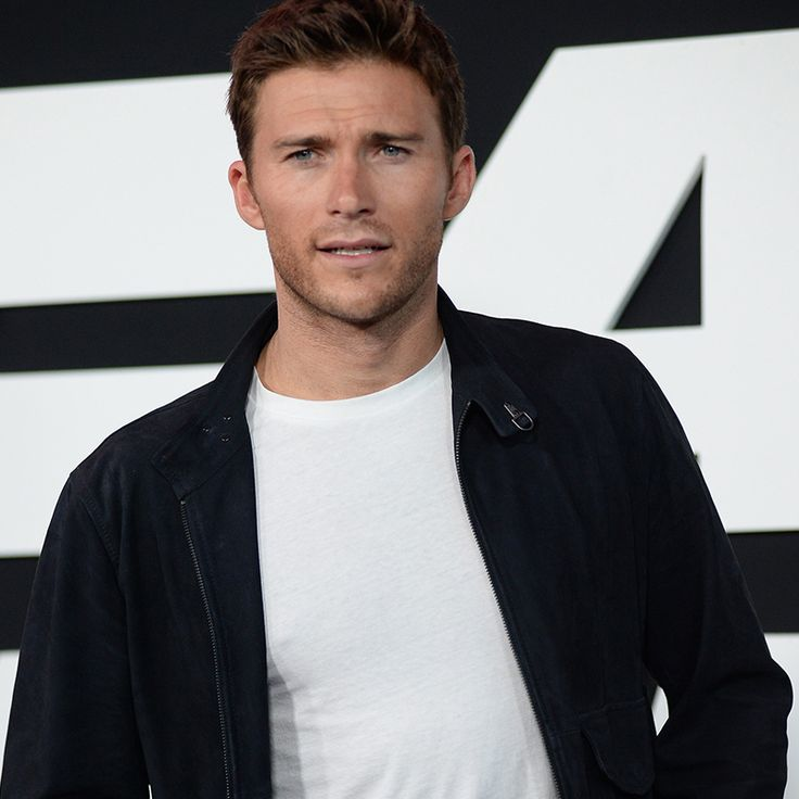 Scott Eastwood wears the Fay bomber jacket to the opening night of The Fate Of The Furious 8.