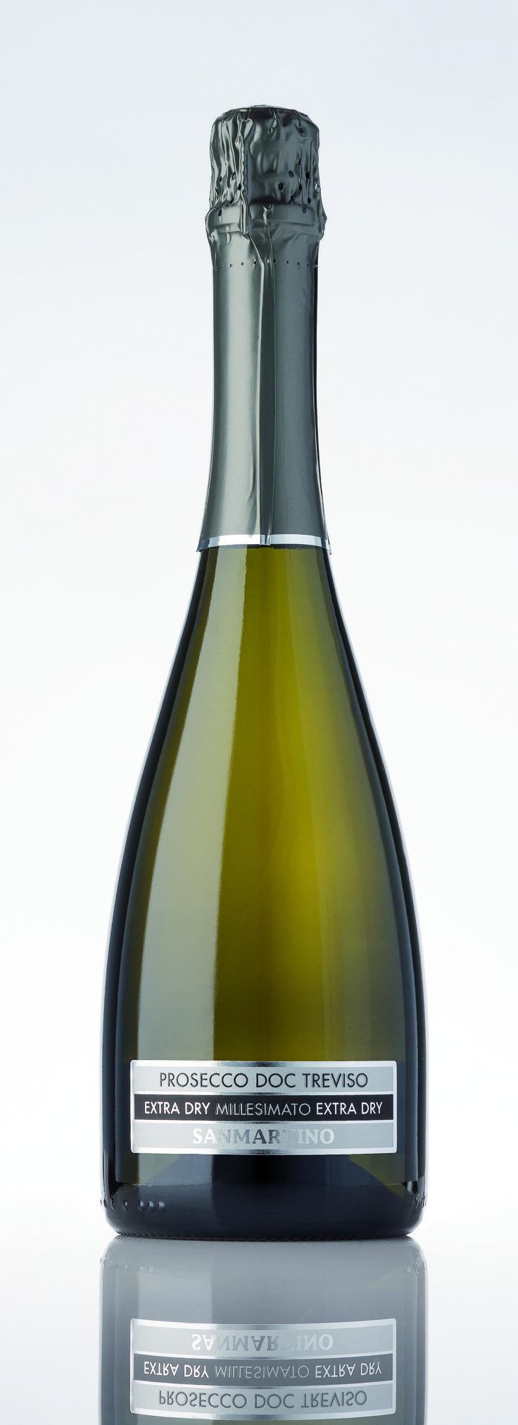 Prosecco doc millesimato extra dry spumante wine label etichette serigrafiche
