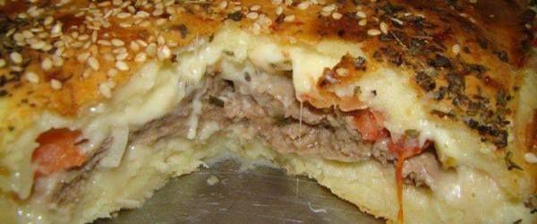 Copie a Torta de hamburguer - Receitas Supreme