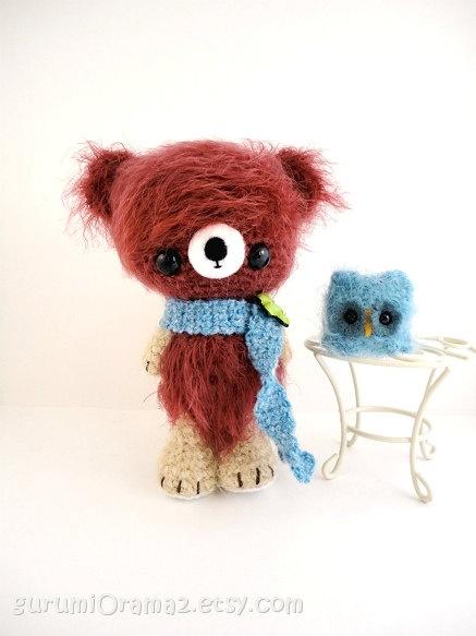 Amigurumi Mini Bear : 462 best images about ????? on Pinterest Free pattern ...