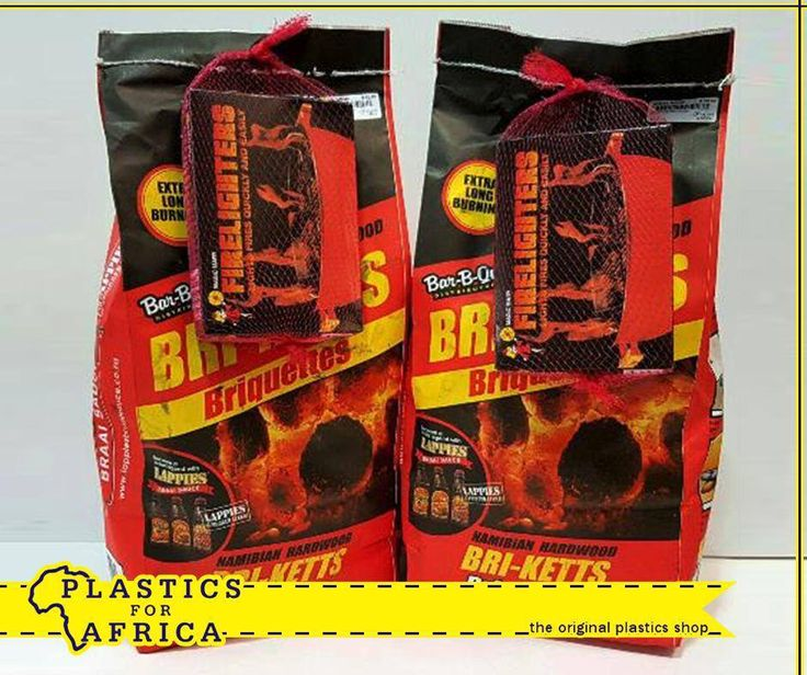 Summer time is braai time. Start your fire quickly and easily with these bags of Briquettes, including a pack of Fire Lighters, for only R50 at #PlasticsforAfrica. T's & C's apply, E&OE.