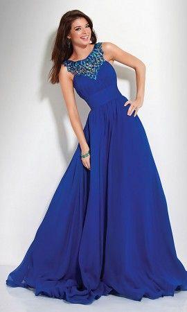 Jovani Dress 1799 Open Back Prom Dresses, Jovani Elegant Prom Dresses