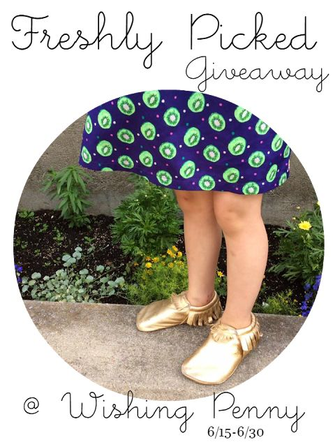 Freshly Picked Moccasins GIVEAWAY!! Ends 6/30 - Wishing Penny