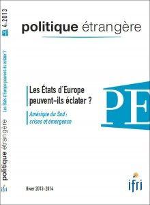 Les dynamiques d'éclatement d'États dans l'Union européenne : casse-tête juridique, défi politique - politique-etrangere.com. Nous avons le plaisir de vous offrir l'article d'Yves Gounin sur les dynamiques d'éclatement d'Etats dans l'Union européenne. Pour le lire, il suffit de cliquer sur le lien suivant: http://www.ifri.org/downloads/yvesgouninpe42013.pdf