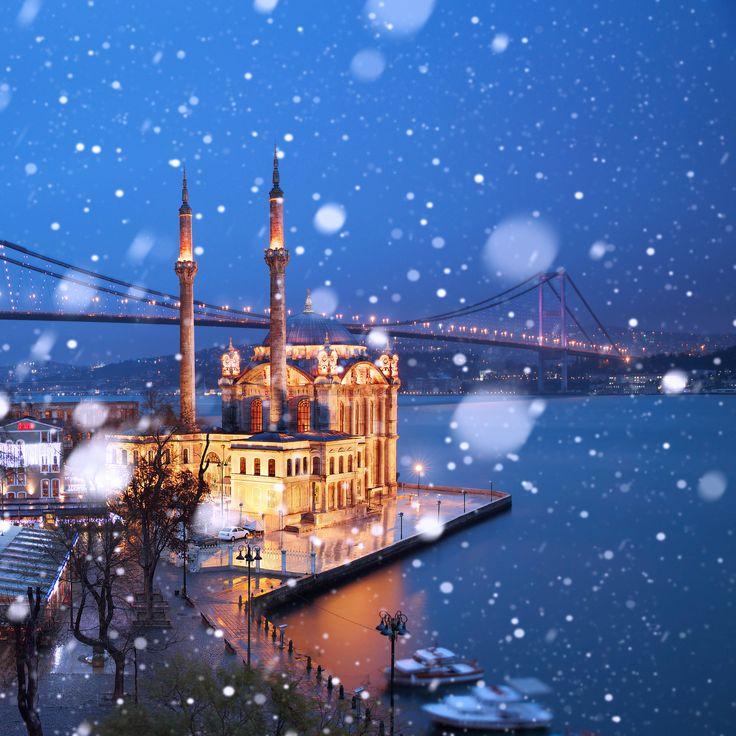 Ortaköy  mosque  and Bosphorus bridge  My instagram : ilhan1077
