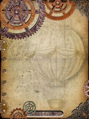 Steampunk Digital Art Journal/Scrapbook Page