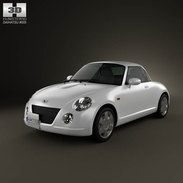 Daihatsu Copen 2011 3d model from humster3d.com. Price: $75