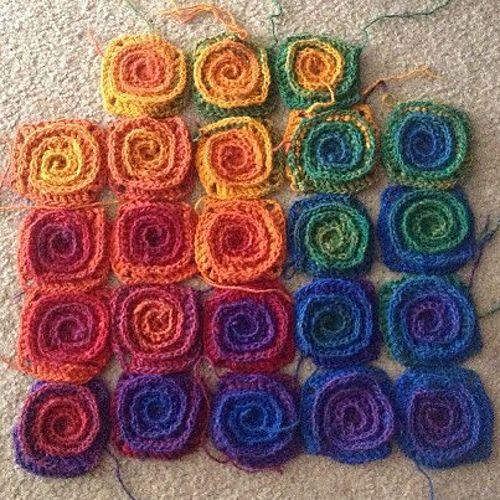 Ravelry: Fire Blanket pattern by Tanya Beliak