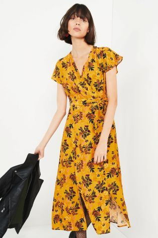 Buy Floral Midi Dress from the Next UK online shop