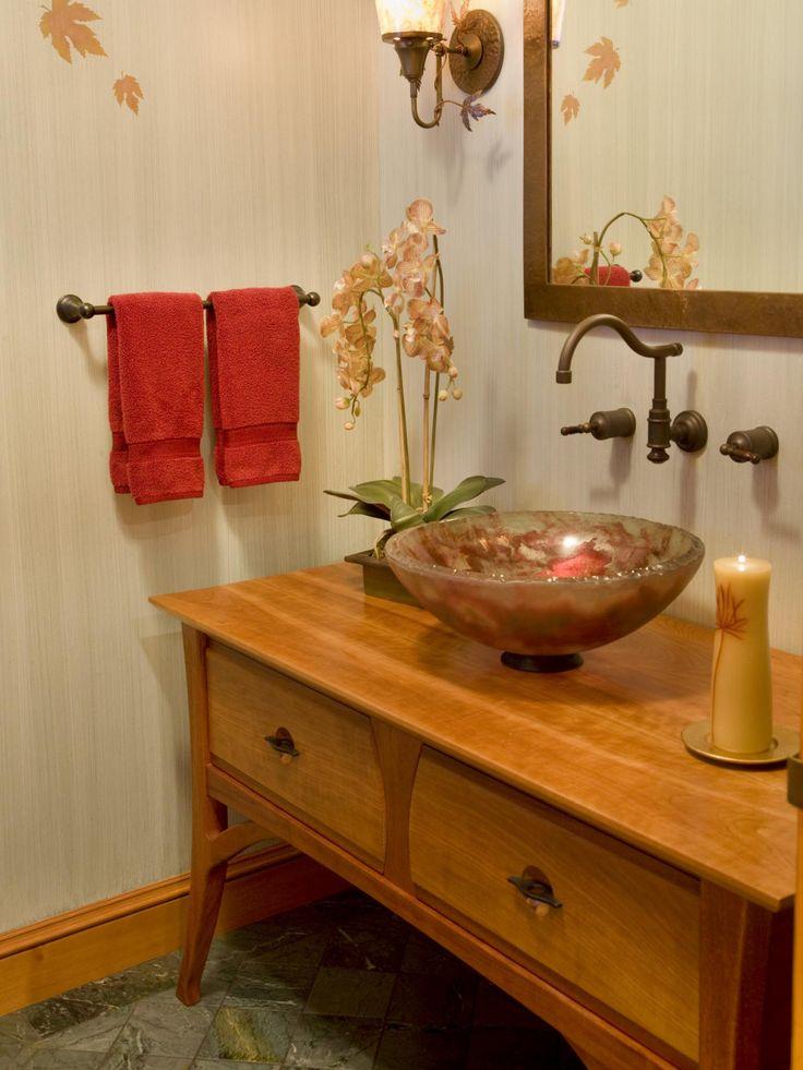 18 Savvy Bathroom Vanity Storage Ideas   Bathroom Ideas & Design with Vanities, Tile, Cabinets, Sinks   HGTV