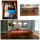 Pool Table W/cover And Accessories 6ft - http://awesomeauctions.net/bar-games/pool-table-wcover-and-accessories-6ft/