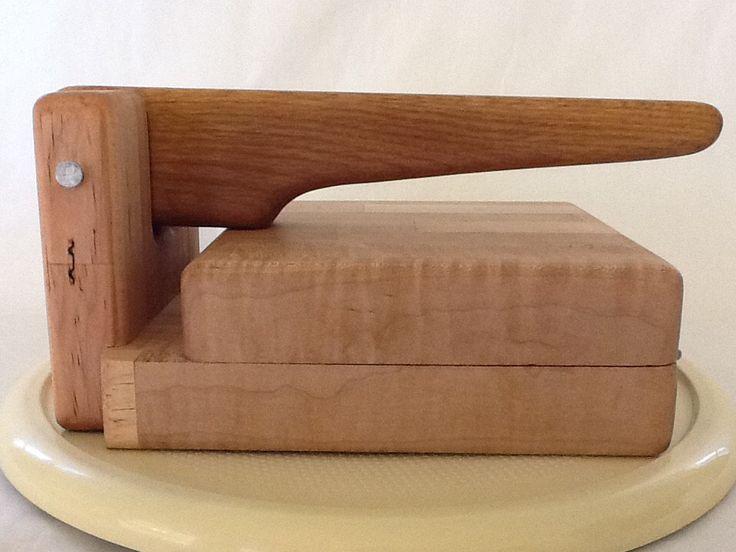 Wood Tortilla Press / Tortilladora de Madera by CastleShop1 on Etsy