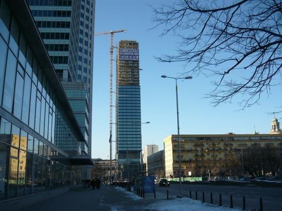 Cosmopolitan in Warsaw by Helmut Jahn