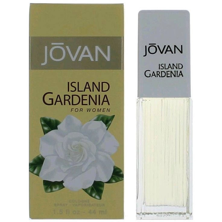 Jovan Island Gardenia Perfume by Coty 1.5 oz Cologne Spray for Women NIB #Jovan