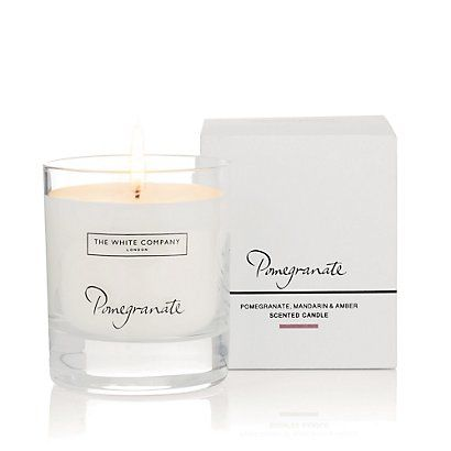 Pomegranate Signature Candle - Candles | The White Company