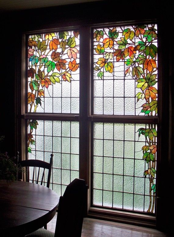 Stained Glass Window. Kitchen ...