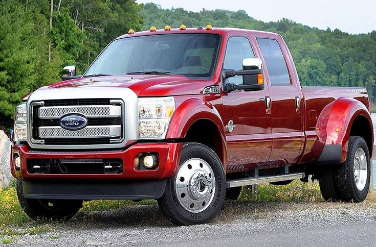 The sweet looking Ford F-450 Super Duty King Ranch.