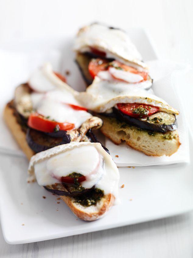 stokbrood met gegrilde aubergine | ZTRDG magazine