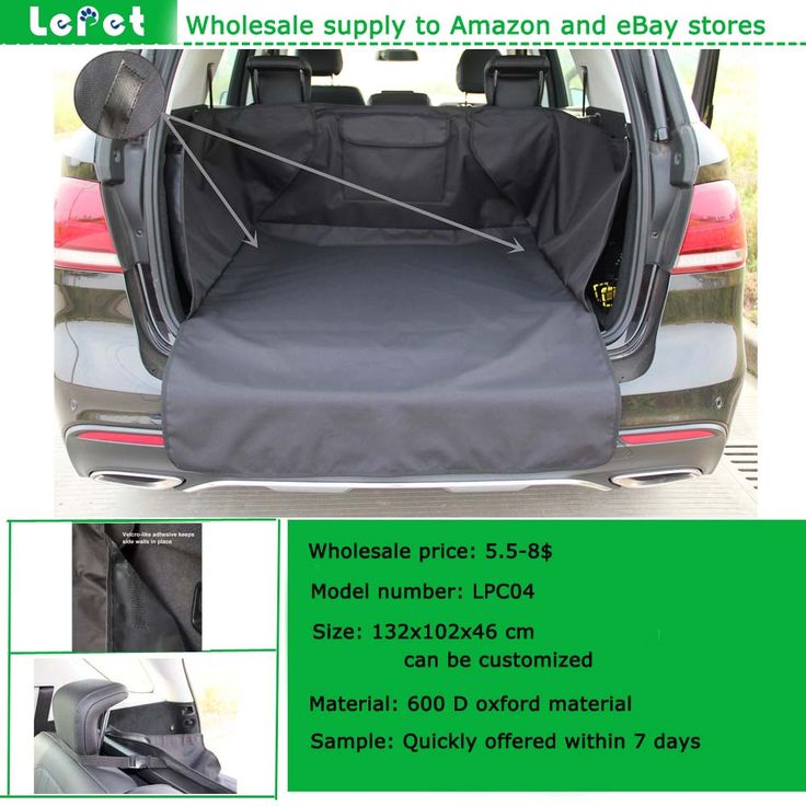 Factory Wholesale Waterproof Non Slip Washable Dog Cargo Liner