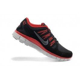 Nike Free 5.0+ Herresko Svart Rød | Nike sko tilbud | billige Nike sko på nett | Nike sko nettbutikk norge | ovostore.com