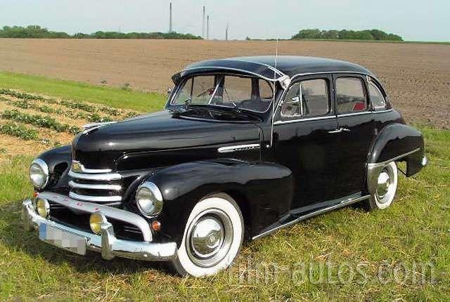 Mieten Sie Opel Kapitän 51 Bj. 1951 für Film, Foto und Events   – Schwarze Limousinen