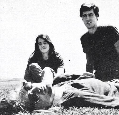 Kurt Cobain, Krist Novoselic, and Chad Channing