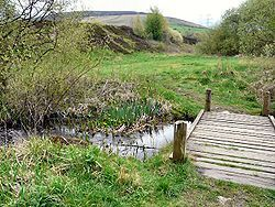 Part of Stalybridge Country Park, where Hindley's ashes were scattered in 2003