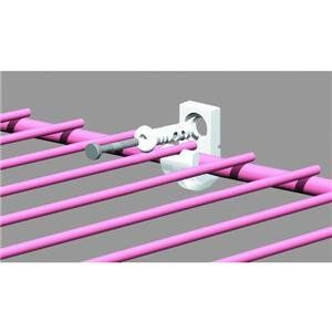 ClosetMaid 661000 Wire Shelf Wall Clips For Drywall   Wall Clips For  Support Of Back Edge