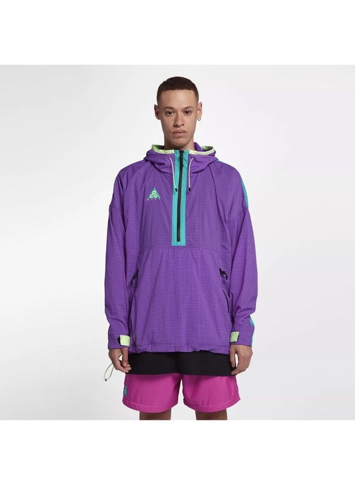 22e072dee6 Nike NIKELAB ACG JACKET 931907 560 SIZE M HYPER GRAPE 2018 COLLECTION #Nike  #12ZipJacket