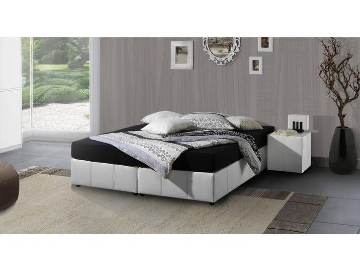 Boxspringbett 200x200 Cm Schwarz H2 Liege Ohne Kopfteil Athen House Design Home Best Interior
