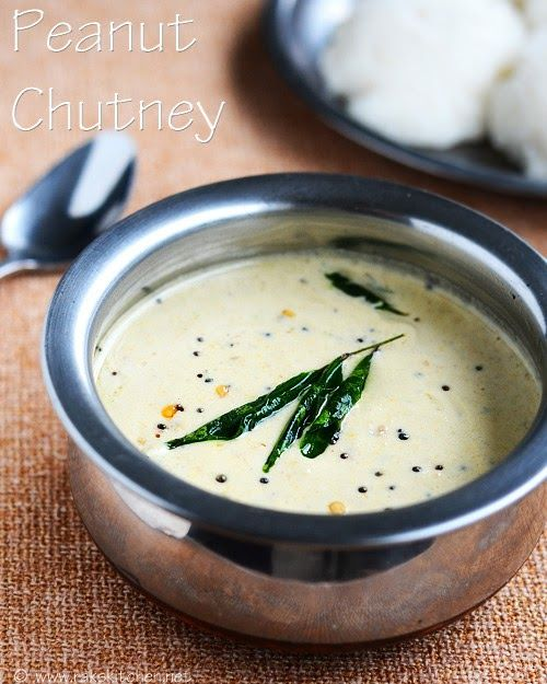 Peanut chutney, with minimum ingredients, maximum taste and flavor! Try this recipe, sure you will love it.!