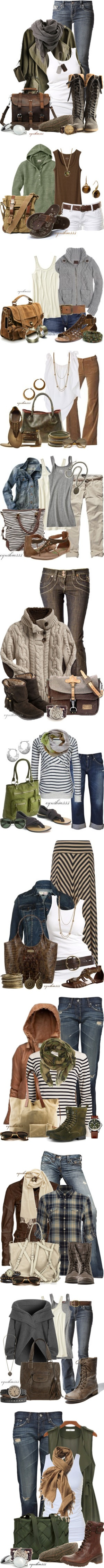 """""""Earthy Comfort"""" by cynthia335 ❤ liked on Polyvore"""