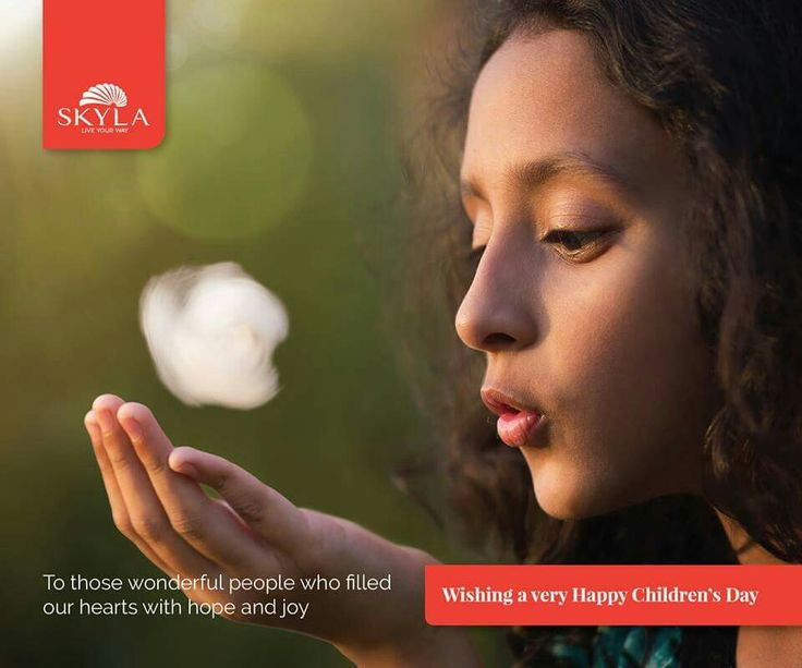 To those wonderful people who filled  our hearts with hope and joy  wishing a very Happy Children's Day