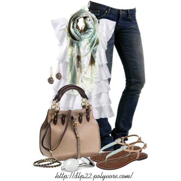 Warm Spring Style, created by dlp22 on Polyvore