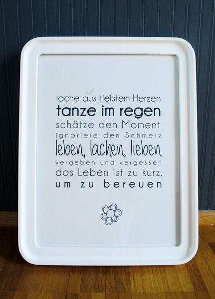 Originaldruck - Druck ♥leben,lachen,lieben♥ - ein Designerstück von Formart-Zeit-fuer-schoenes bei DaWanda
