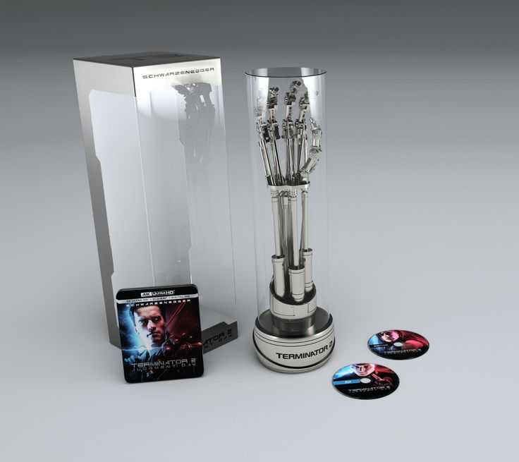 Terminator 2 on 4K Blu-ray includes T-800 arm replicate: Terminator 2 on 4K Blu-ray includes T-800 arm replicate:…