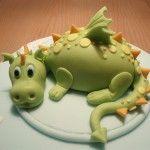Gâteau dino