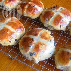 Buttermilk hot cross buns @ allrecipes.co.uk