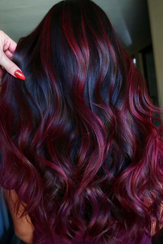 Plum Hair Color Ideas For Jaw Dropping Makeovers Lovehairstyles Com In 2020 Hair Color Plum Hair Color For Black Hair Hair Color Burgundy