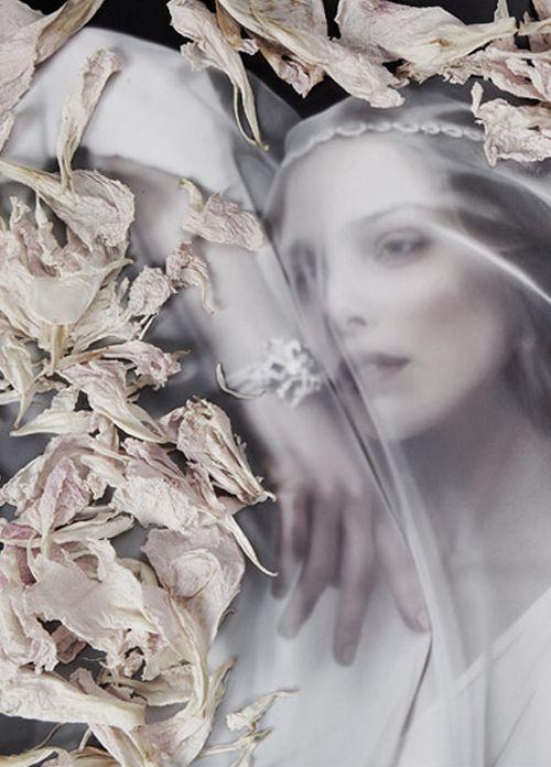 "Tanya Dziahileva in ""Ave Maria"" by Danil Golovkin |Harper's Bazaar Russia"