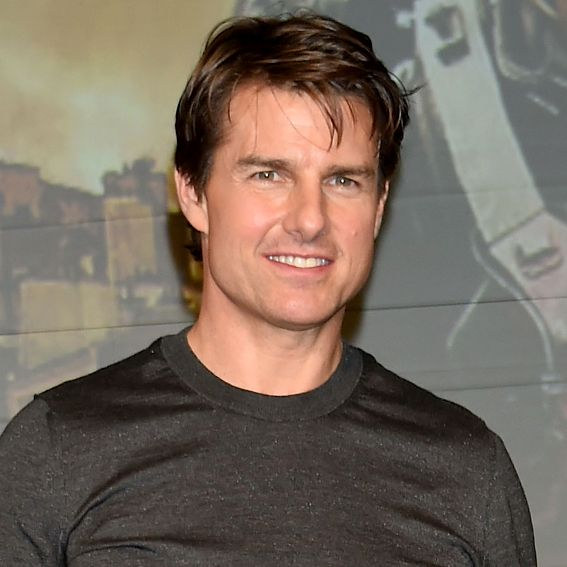 Tom Cruise's Changing Looks - 2014  - from InStyle.com