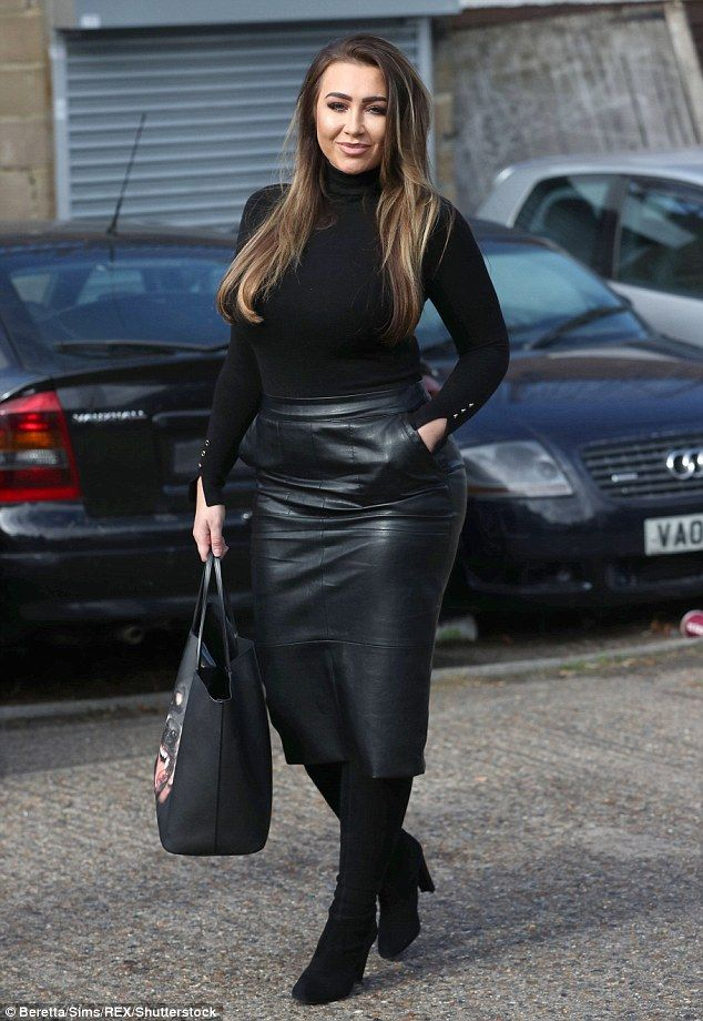 Feeling flush: Lauren Goodger is determined to ensure that convicted criminal Joey Morrison has a good Christmas despite being behind bars after snapping up some expensive gifts