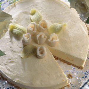 Valkosuklaa-juustokakku - Reseptit – Kotiliesi