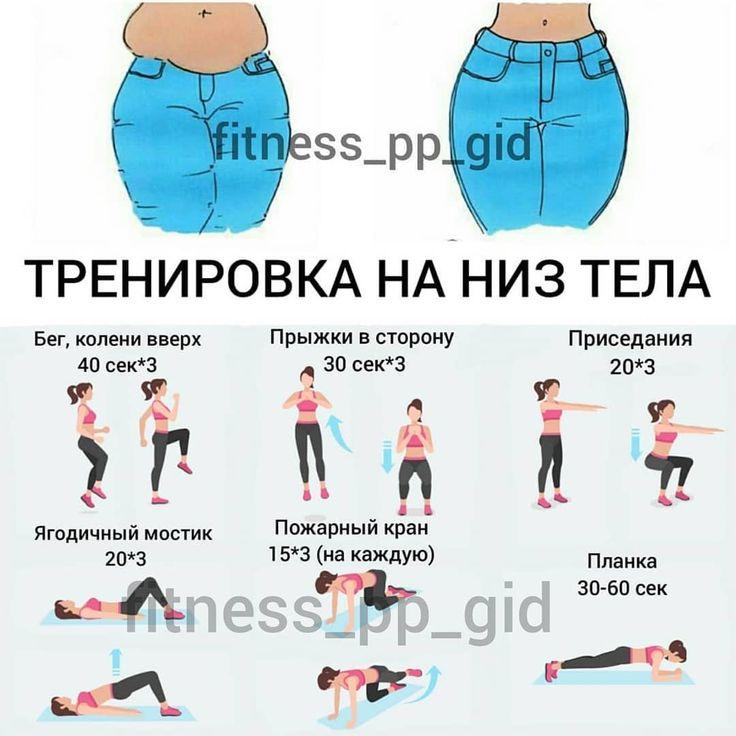 Специальные Тренировки Для Похудения.